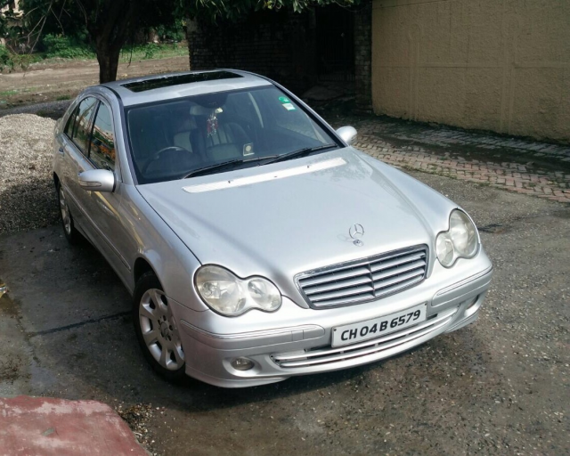 Mercedes-Benz C-Class 200K AT 2007