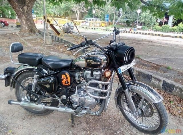 Royal Enfield Classic Chrome 500cc 2012