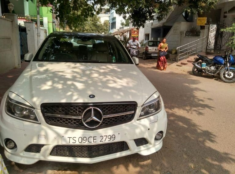 Used 2011 mercedes benz c class premium super car for for Used mercedes benz in hyderabad