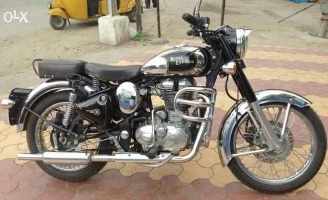 Royal Enfield Classic Chrome 500cc 2013