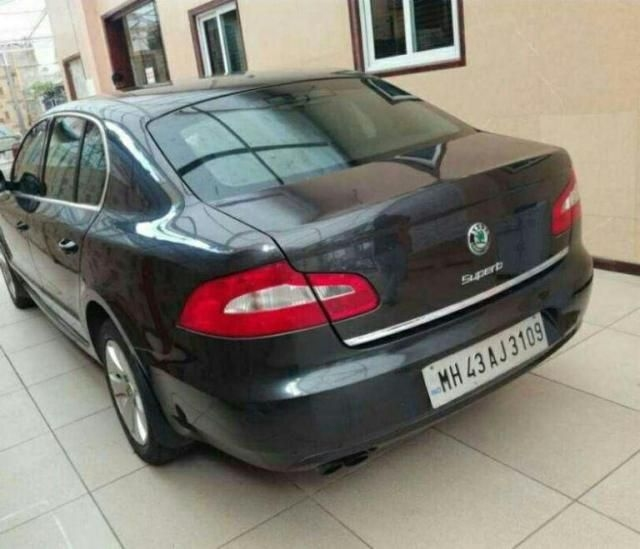 Skoda Superb 2.0 TDI PD 2011
