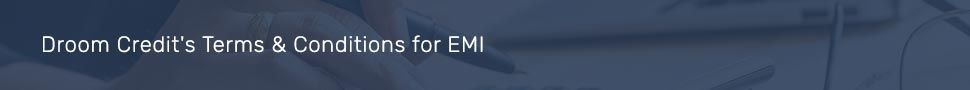EMI Terms of use
