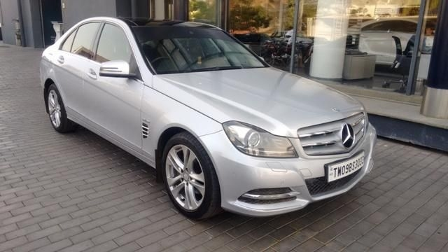 Mercedes-Benz C-Class 220 CDI Elegance AT 2012