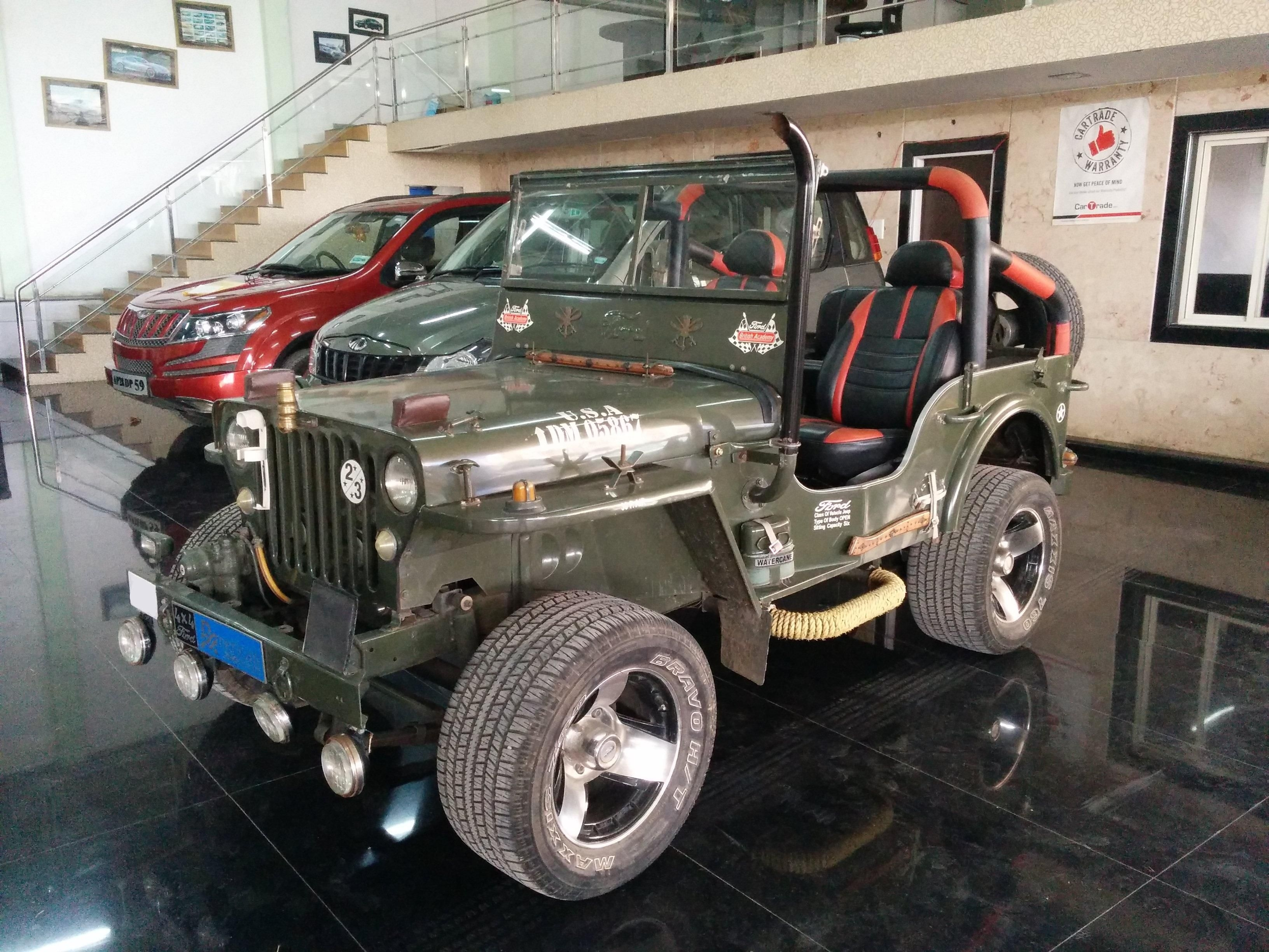 Mahindra Jeep Car for Sale in Hyderabad- (Id: 1415319555) - Droom