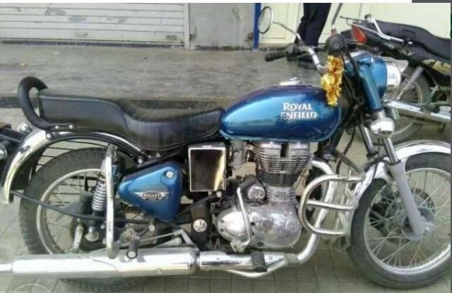 2 Used Blue Color Royal Enfield Electra Bike For Sale Droom
