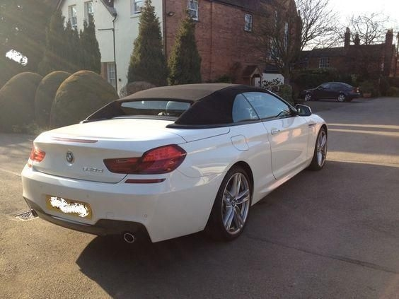 BMW 6 Series 640 D CONVERTIBLE 2012