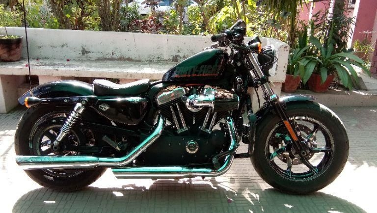 Harley-Davidson Sportster XL 1200X Forty-Eight 2012