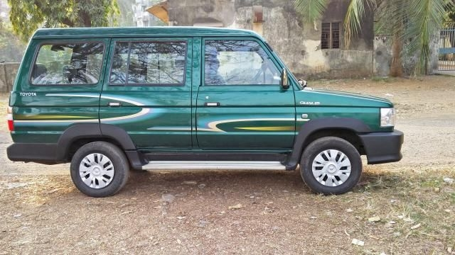 19 Used Green Color Toyota Qualis Car For Sale Droom