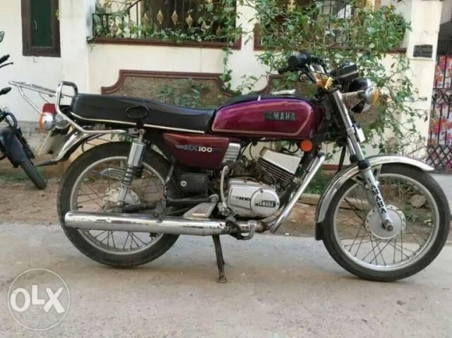 55 used yamaha rx 100 bikes second hand rx 100 bikes for sale droom
