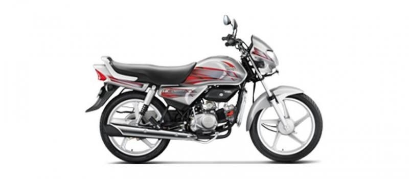 Hero HF Deluxe Kick Alloy 100cc 2018