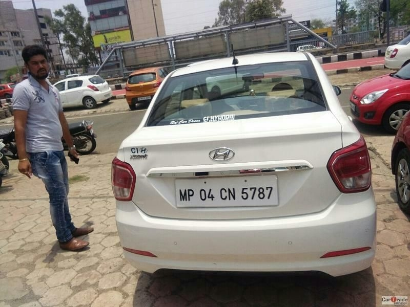 Used 2014 Hyundai Xcent Car For Sale In Bhopal Id