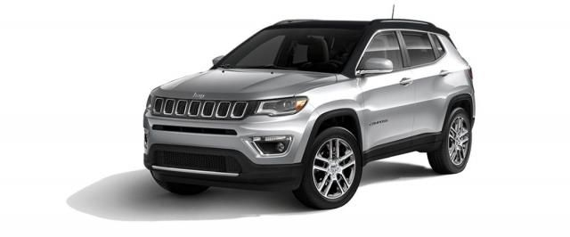 Jeep Compass 1.4L Limited Black Pack 4x2 Option Pack (AT) 2018