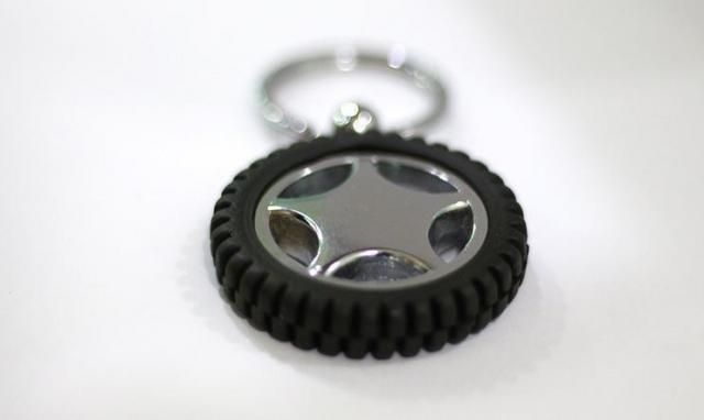 Droom Tyre Key Chain - Set of 2