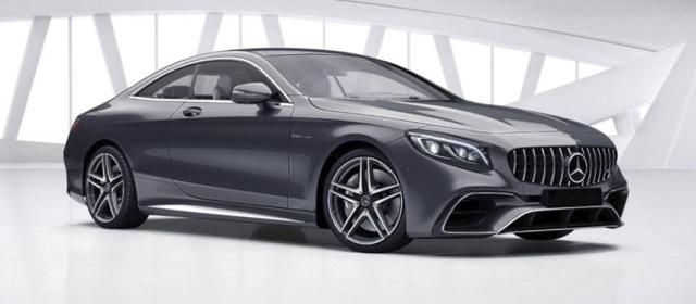Mercedes-Benz S-Coupe S 63 AMG 2018