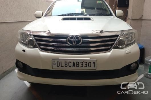 Toyota Fortuner 2.8 4x4 AT 2014