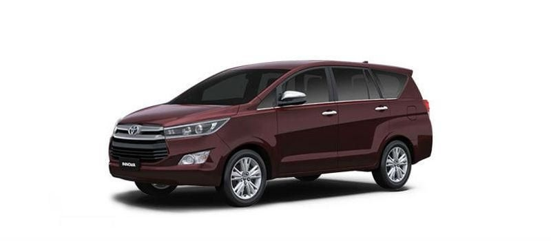 Toyota Innova Crysta 2.8 GX AT 8 STR 2019