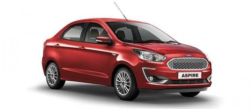 Ford Aspire Titanium 1.5 Ti-VCT AT 2019