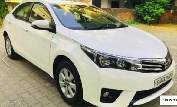 Toyota Corolla Altis G AT Petrol 2015