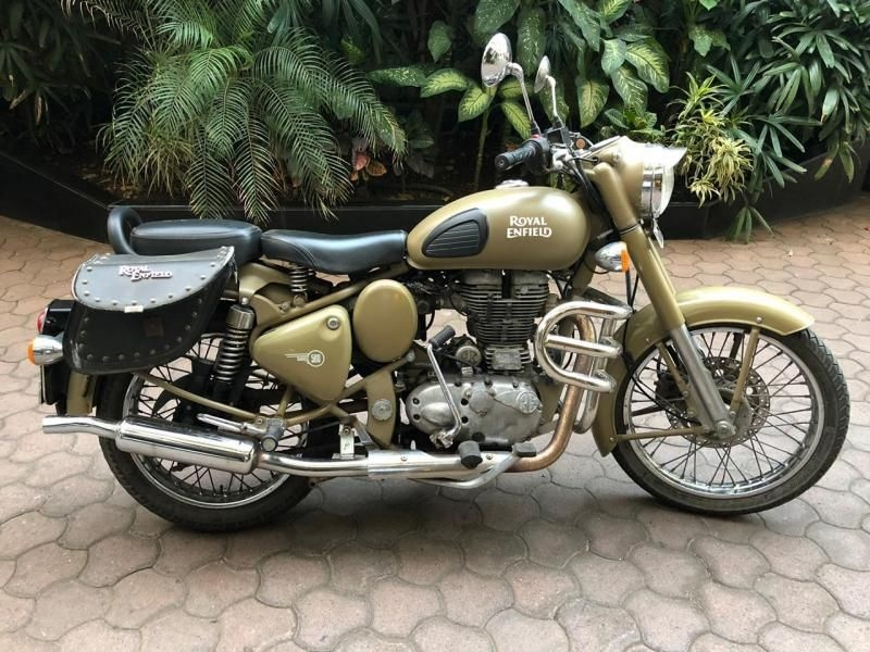 Royal Enfield Classic Desert Storm Bike For Sale In Mumbai Id 1416927476 Droom