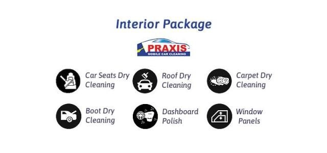 Interior Car Care Detailing - Praxis Mobile Car Cleaning
