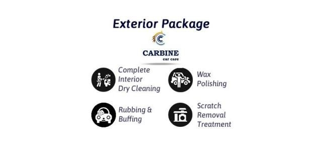 Exterior Car Care Detailing - Carbine Car Care