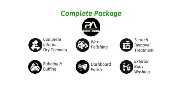 Complete(Interior and Exterior) Car Care Detailing - Prime auto coatings and detailing