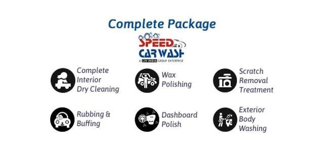 Complete(Interior and Exterior) Car Care Detailing - Speed Car Wash