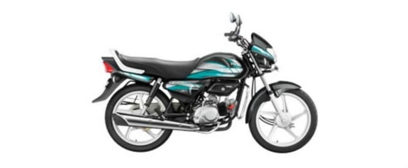 Hero HF Deluxe iBS self Alloy 100cc 2019