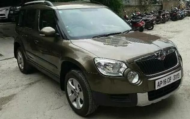 Skoda Yeti Car For Sale In Hyderabad Id 1418127476 Droom