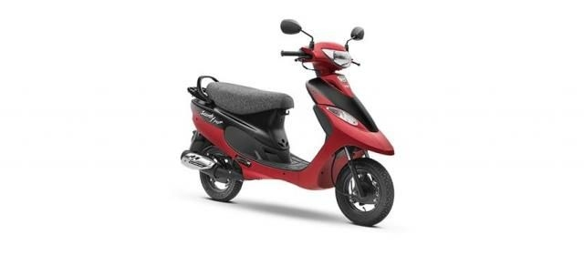 TVS Scooty Pep+ 90cc Matte Edition BS6 2020