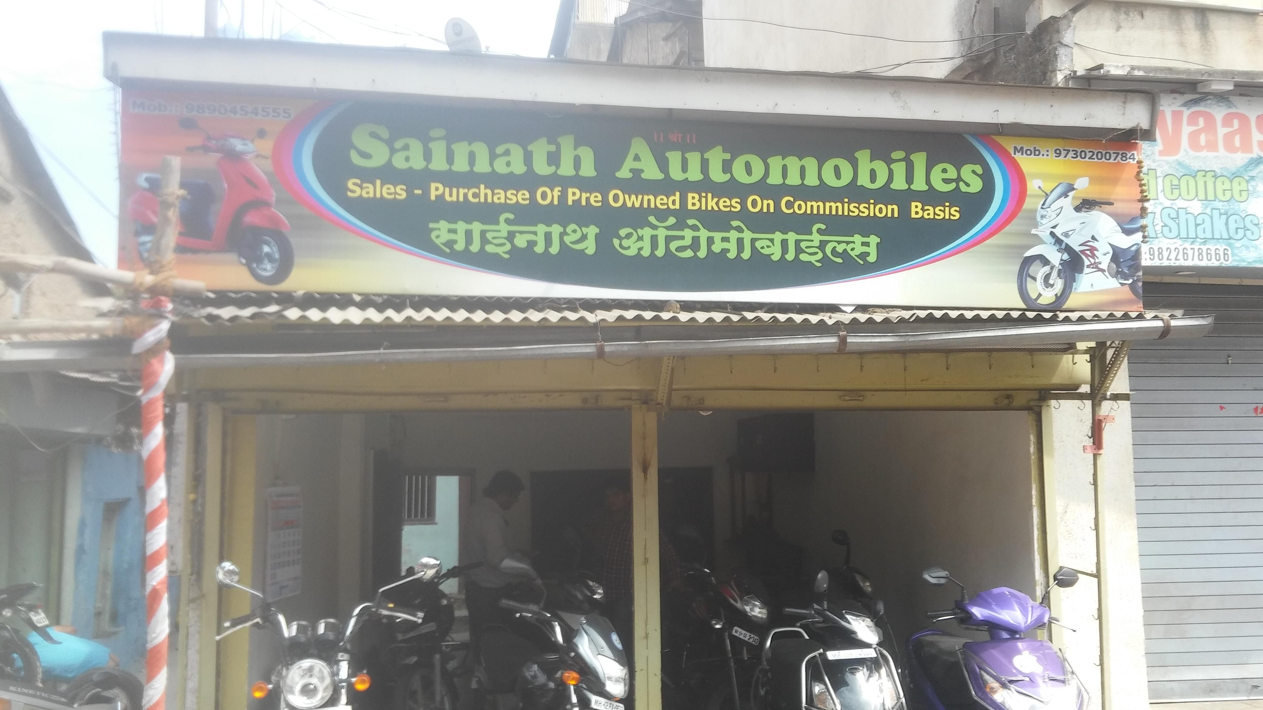 sainath automobiles bike